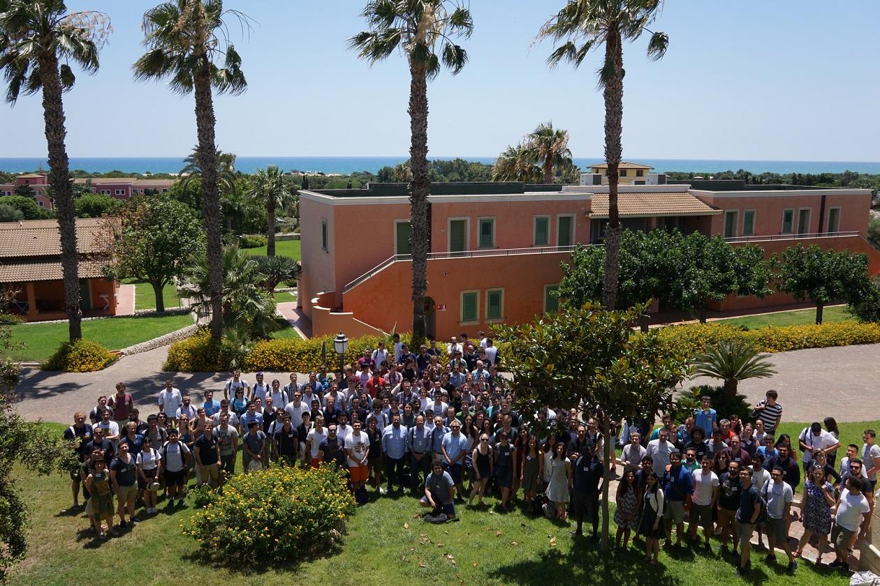 INTERNATIONAL COMPUTER VISION SUMMER SCHOOL 2017 STUDENTS IN SICILY